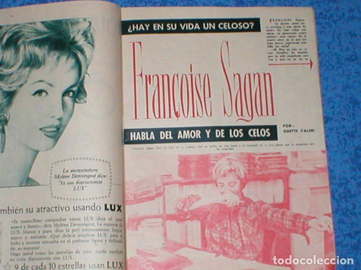 Coleccionismo de Revista Garbo: Revista GARBO 559 JOHN F. KENNEDY JACKIE JACQUELINE 1963 IRA DE FURSTENBERG AVA GARDNER CARMEN AMAYA - Foto 5 - 189322527