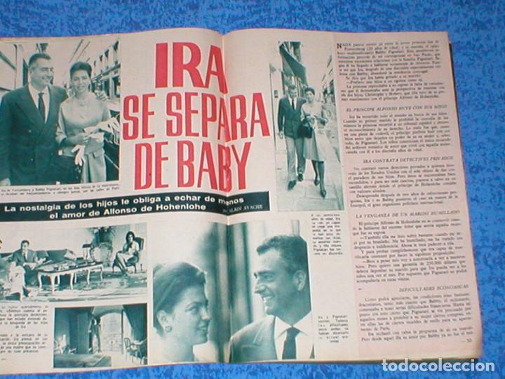 Coleccionismo de Revista Garbo: Revista GARBO 559 JOHN F. KENNEDY JACKIE JACQUELINE 1963 IRA DE FURSTENBERG AVA GARDNER CARMEN AMAYA - Foto 7 - 189322527