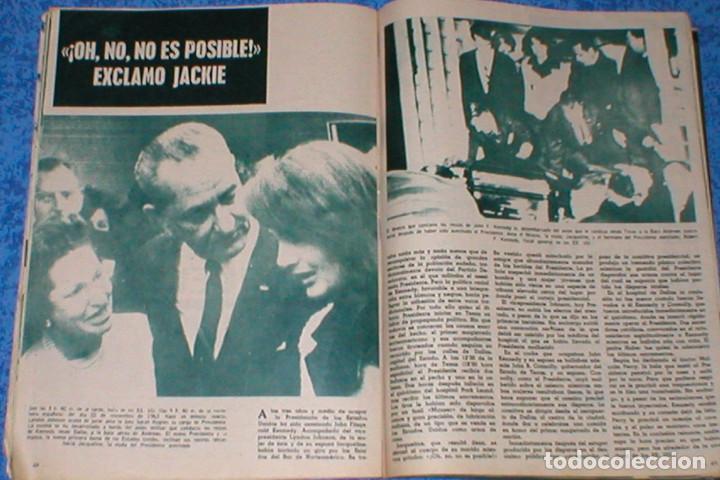 Coleccionismo de Revista Garbo: Revista GARBO 559 JOHN F. KENNEDY JACKIE JACQUELINE 1963 IRA DE FURSTENBERG AVA GARDNER CARMEN AMAYA - Foto 8 - 189322527