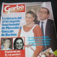 Coleccionismo de Revista Garbo: GARBO 7/85 OLIVER REED ANTONIO GADES LA JOYA DE LA CORONA WENDY MORGAN . Lote 189376240