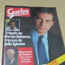Coleccionismo de Revista Garbo: GARBO 12/84 LUCIANO PAVAROTTI MARIA VON TRAPP SONRISAS Y LAGRIMAS BARBARA CARRERA IÑIGO BERTIN OSBOR. Lote 189376598