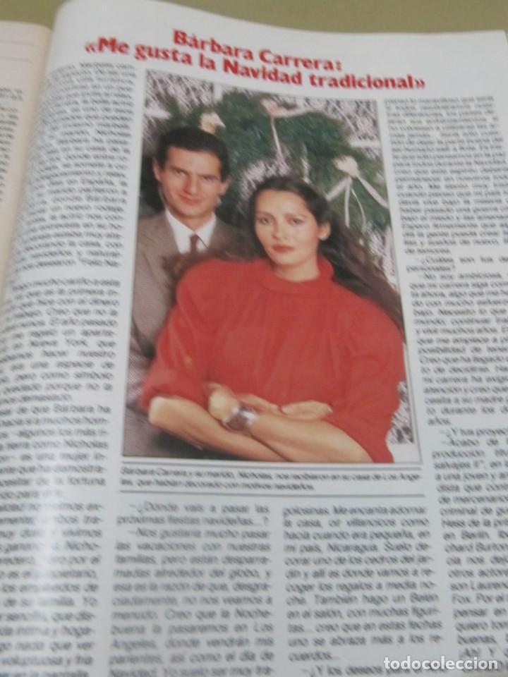 Coleccionismo de Revista Garbo: GARBO 12/84 LUCIANO PAVAROTTI MARIA VON TRAPP SONRISAS Y LAGRIMAS BARBARA CARRERA IÑIGO BERTIN OSBOR - Foto 7 - 189376598