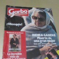Coleccionismo de Revista Garbo: GARBO 11/84 BIBI ANDERSEN INDIRA GANDHI GERALDINE CHAPLIN ELLIS ISLAND SHEENA INDIANA JONES CARMEN M. Lote 189376911