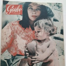 Colecionismo da Revista Garbo: REVISTA GARBO Nº 378 (1960) LESLIE CARON JACQUES CHARRIER BRIGITTE BARDOT SOFÍA SOPHIA LOREN VINTAGE. Lote 189406548