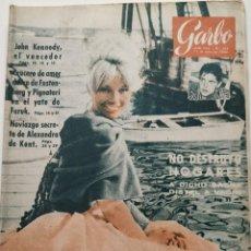 Collectionnisme de Magazine Garbo: REVISTA GARBO Nº 384 (1960) ANNETTE VADIM JOHN KENNEDY MISS UNIVERSO VINTAGE. Lote 189407271
