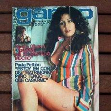 Coleccionismo de Revista Garbo: GARBO / MARISOL, ROCIO DURCAL, MARIA KOSTY, PAULA PATTIER, FEDRA LORENTE, RAMON RIVA. Lote 190395021