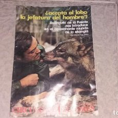 Collectionnisme de Magazine Garbo: REVISTA CIRCULO DE LECTORES AÑO 1975 FELIX RODRÍGUEZ DE LA FUENTE SALVADOR DALÍ. Lote 190420407