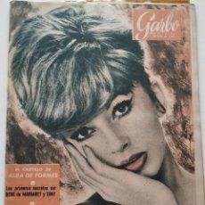 Coleccionismo de Revista Garbo: REVISTA GARBO Nº 433 DANY SAVAL ISABEL DE FRANCIA EL CASTILLO DE ALBA DE TORMES 1961. Lote 190635640