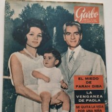 Coleccionismo de Revista Garbo: REVISTA GARBO Nº 449 FARAH DIBA OPUS DEI PAOLA DE LIEJA PAUL HENRI SPAAK MISS TOKIO 1961. Lote 190709148