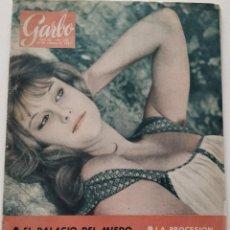 Coleccionismo de Revista Garbo: REVISTA GARBO Nº 450 STEFANIA SANDRELLI TINA ONASSIS FARAH DIBA JEAN SEBERG 1961. Lote 190709395