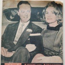 Coleccionismo de Revista Garbo: REVISTA GARBO Nº 451 TINA LIVANOS MARQUÉS DE BLANDFORD MARIA GABRIELA REJONEADORA KRUSCHEF MAO 1961. Lote 190710755