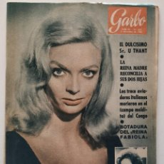 Colecionismo da Revista Garbo: REVISTA GARBO Nº 455 BARBARA STEELE REINA FABIOLA ROCKEFELLER DANIEL EL TRAVIESO 1961. Lote 190711371