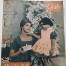 Coleccionismo de Revista Garbo: REVISTA GARBO Nº 460 BENITO PÉREZ GALDÓS JACQUIE CHAN CHET BAKER HALINA HALIT 1962. Lote 190712000