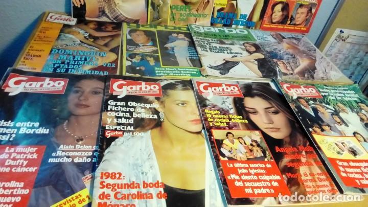 REVISTAS GARBO 12 EJEMPLARES- (Coleccionismo - Revistas y Periódicos Modernos (a partir de 1.940) - Revista Garbo)