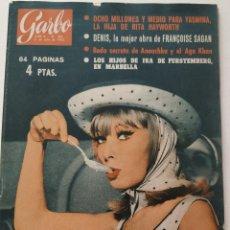 Coleccionismo de Revista Garbo: REVISTA GARBO 488 DANY SAVAL YASMINA RITA HAYWORTH FRANÇOISE SAGAN MISS EUROPA ENRIQUE GUITART 1962. Lote 191265448