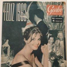 Coleccionismo de Revista Garbo: REVISTA GARBO Nº 511 CLAUDIA CARDINALE BRIGITTE BARDOT FELIZ 1963 SAMI FREY VINTAGE (1962). Lote 191266070
