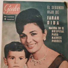 Coleccionismo de Revista Garbo: REVISTA GARBO Nº 512 FARAH DIBA CIRO REZA MARLON BRANDO KENNEDY VINTAGE (1963). Lote 191266208