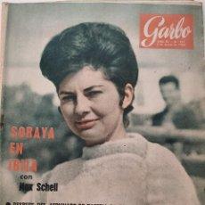 Coleccionismo de Revista Garbo: REVISTA GARBO Nº 521 SORAYA EN IBIZA GARY COOPER PICASSO AVA GARDNER VINTAGE (1963). Lote 191266526