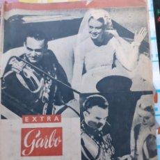 Coleccionismo de Revista Garbo: EXTRA GARBO DEL 23 ABRIL DE 1056. UNA SEMANA EN MONACO CON MOTIVO DE LA BODA DE GRACE KELLY. Lote 191275688