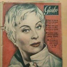 Coleccionismo de Revista Garbo: GARBO NUM 278. 1.958. MICHEL MORGAR. MARGARITA DE SUECIA. PRINCIPE GUSTAVO. SORAYA SHA.. Lote 191467512