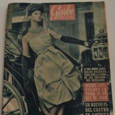 Coleccionismo de Revista Garbo: GARBO Nº 444 - AÑO IX - 16 SEPTIEMBRE 1961. Lote 191803871