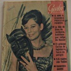 Coleccionismo de Revista Garbo: GARBO Nº 467 - AÑO X - 24 FEBRERO 1962 - EL PRINCIPE CARLOS FUERA DE PELIGRO - CONCHA PIQUER. Lote 191803892