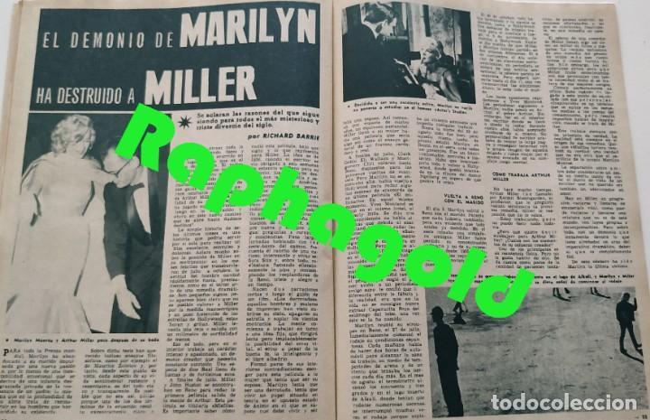Coleccionismo de Revista Garbo: Revista GARBO nº 408 (1961) Jackie Chan Marilyn Monroe Arthur Miller Dawn Addams VINTAGE - Foto 3 - 192505836