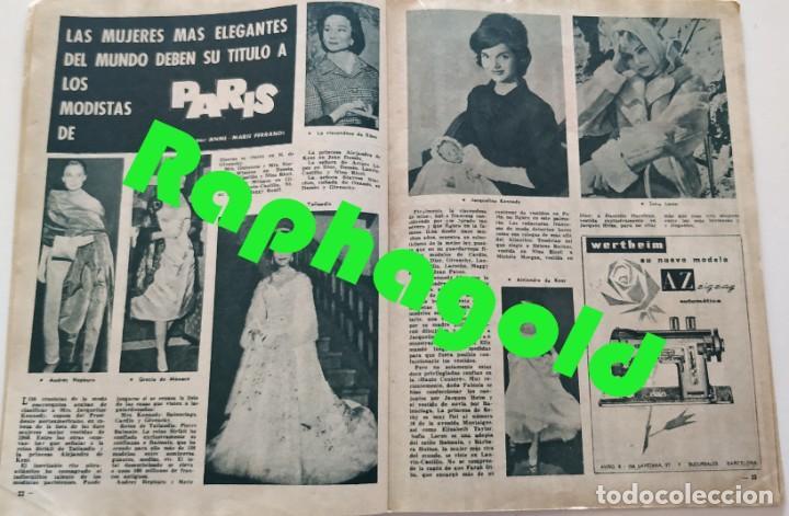 Coleccionismo de Revista Garbo: Revista GARBO nº 413 (1961) Françoise Arnoul Keneddy Audrey Hepburn Sofia Loren Grace Kelly VINTAGE - Foto 2 - 192505923