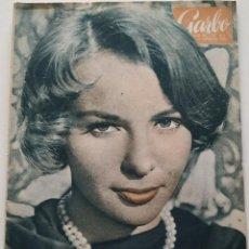 Coleccionismo de Revista Garbo: REVISTA GARBO Nº 413 (1961) FRANÇOISE ARNOUL KENEDDY AUDREY HEPBURN SOFIA LOREN GRACE KELLY VINTAGE. Lote 192505923