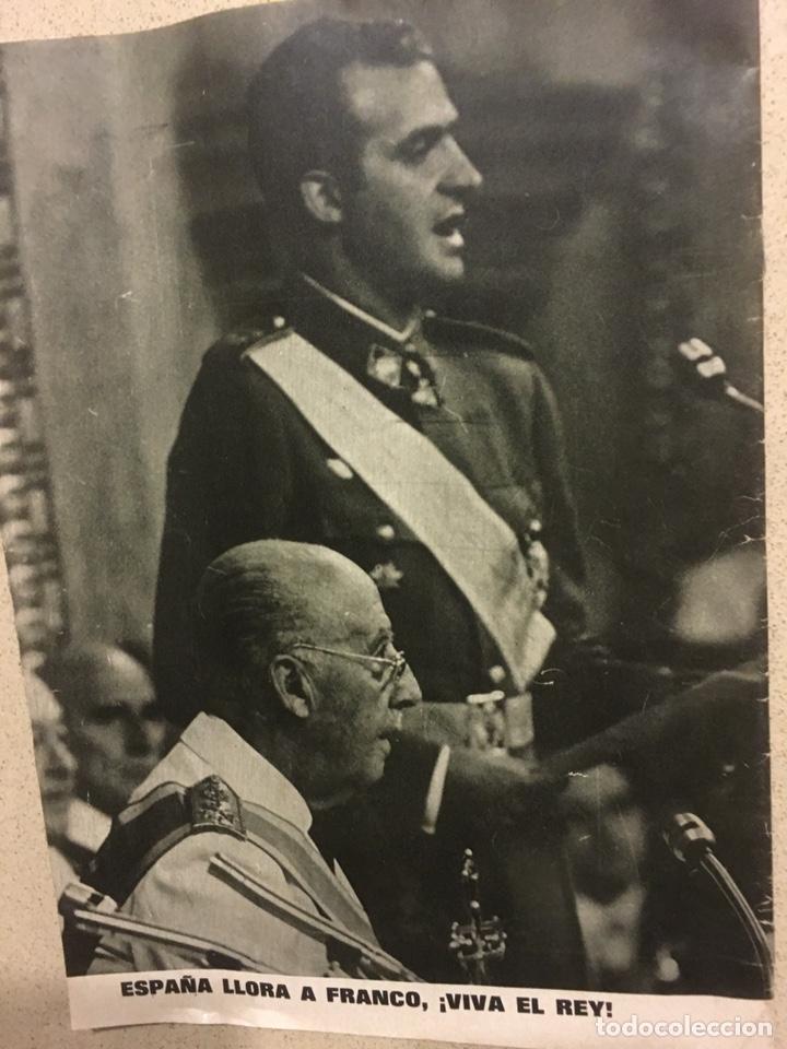 Coleccionismo de Revista Garbo: Revista Garbo especial muerte Franco - Foto 3 - 193357006