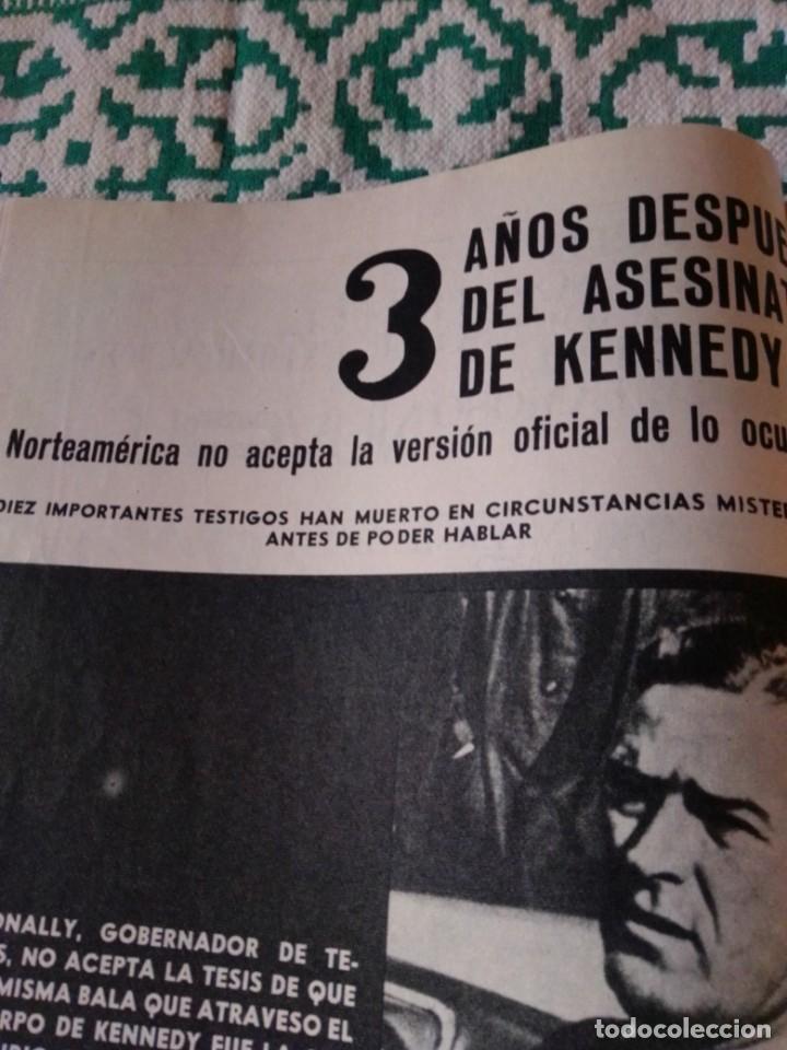 Coleccionismo de Revista Garbo: Revista Garbo 717. Año 1966. Marlon Brando-España-Kennedy-Rita Pavone-Grace y Raniero-Brigitta... - Foto 4 - 193417311