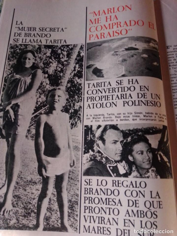Coleccionismo de Revista Garbo: Revista Garbo 717. Año 1966. Marlon Brando-España-Kennedy-Rita Pavone-Grace y Raniero-Brigitta... - Foto 5 - 193417311
