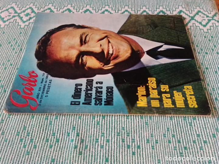 Coleccionismo de Revista Garbo: Revista Garbo 717. Año 1966. Marlon Brando-España-Kennedy-Rita Pavone-Grace y Raniero-Brigitta... - Foto 10 - 193417311