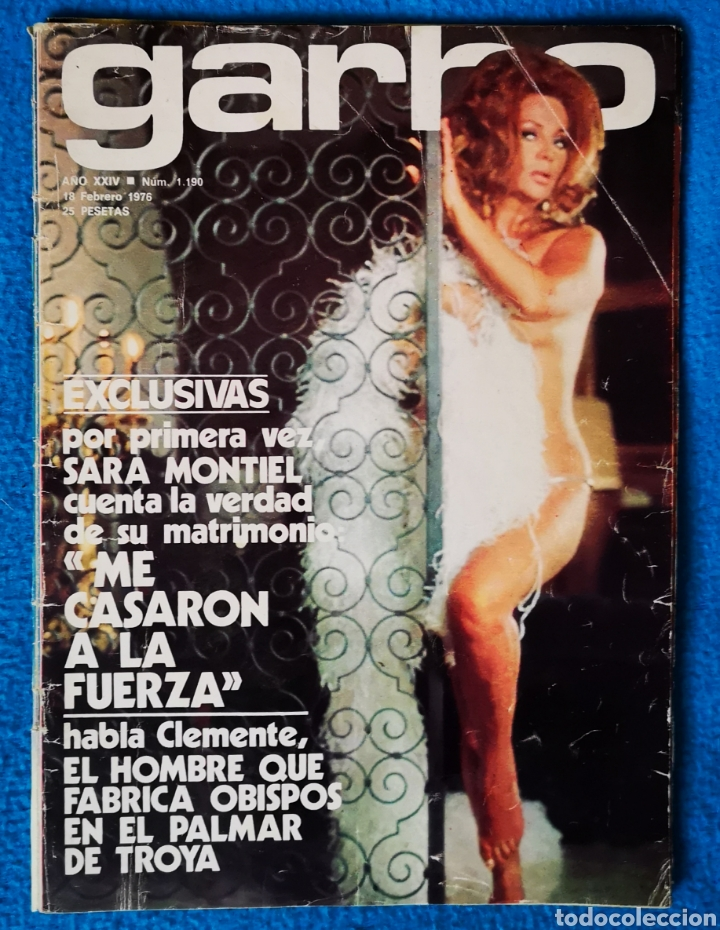 GARBO - 18 02 1976 (Coleccionismo - Revistas y Periódicos Modernos (a partir de 1.940) - Revista Garbo)