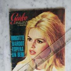 Colecionismo da Revista Garbo: REVISTA GARBO - BRIGITTE BARDOT - BEATLES - GRACE DE MONACO - ANA DE INGLATERRA - RINGO. Lote 196096315