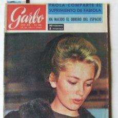 Coleccionismo de Revista Garbo: GARBO 632 PAOLA DE LIEJA BELGICA CHARLES CHAPLIN ANTOINE SENNI FARUK CLAUDIA CARDINALE. Lote 196365331
