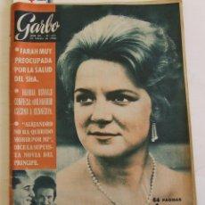Colecionismo da Revista Garbo: GARBO 571 IRENE DE HOLANDA BEATLES CATHERINE DENEUVE BRIGITTE BARDOT KENNEDY EDITH PIAF . Lote 196369875