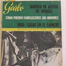 Coleccionismo de Revista Garbo: GARBO 656 ANA MARIA DE GRECIA ALEXIA BEATLES MANOLO SANTANA ELISABETH TAYLOR MARIA SCHELL . Lote 196371145