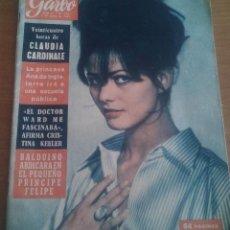 Coleccionismo de Revista Garbo: REVISTA GARBO - NUMERO 542 - AGOSTO 1963 (VER SUMARIO DE LA REVISTA EN FOTOGRAFIAS). Lote 196968941