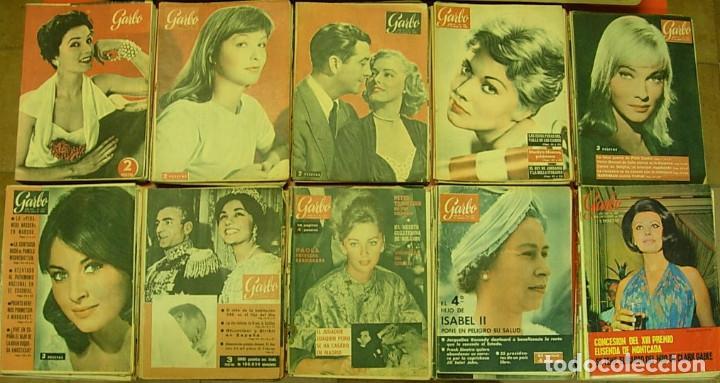 GRAN LOTE 87 REVISTAS GARBO 1953-1970 MUY ANTIGUAS OFERTA !!! (Coleccionismo - Revistas y Periódicos Modernos (a partir de 1.940) - Revista Garbo)