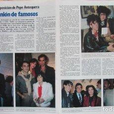 Coleccionismo de Revista Garbo: RECORTE REVISTA GARBO Nº 1487 1981 BERTÍN OSBORNE, ENRIQUE Y ANA, MASSIEL, PEGAMOIDE. Lote 199114533