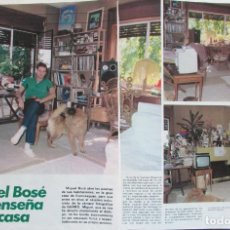 Coleccionismo de Revista Garbo: RECORTE REVISTA GARBO Nº 1487 1981 MIGUEL BOSÉ. PORTADA Y 3 PGS. Lote 199114632