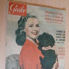 Coleccionismo de Revista Garbo: GARBO Nº 140. NOVIEMBRE 1955. PORTADA PIPER LAURIE. BUEN ESTADO.. Lote 200383138