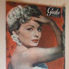 Coleccionismo de Revista Garbo: GARBO Nº 91. DICIEMBRE 1954. PORTADA JEANNE CRAIN. BUEN ESTADO.. Lote 200383661