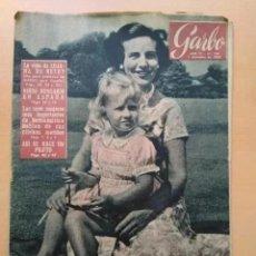 Coleccionismo de Revista Garbo: GARBO. NUM 194. DICIEMBRE DE 1956. Lote 201650731
