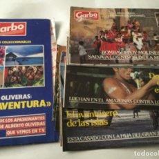 Coleccionismo de Revista Garbo: GARBO- ALBERTO OLIVERAS - FASCICULOS: 1-2-3-4-5-6-8-9-10-12-13- CON CARPETA. Lote 203766345