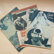 Coleccionismo de Revista Garbo: LOTE 3 REVISTAS GARBO - ESPECIALES BODAS REALES. Lote 204551688