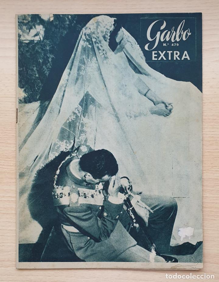 Coleccionismo de Revista Garbo: Lote 3 revistas GARBO - Especiales BODAS REALES - Foto 3 - 204551688