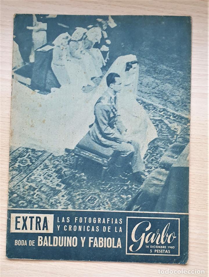 Coleccionismo de Revista Garbo: Lote 3 revistas GARBO - Especiales BODAS REALES - Foto 4 - 204551688