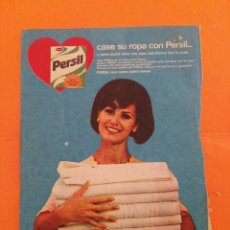 Coleccionismo de Revista Garbo: ANUNCIO PUBLICIDAD AÑO 1965 PERSIL JABÓN PARA ROPA. Lote 205474693